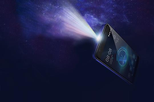 MOVI Is A Smartphone With A Built-in Projector
